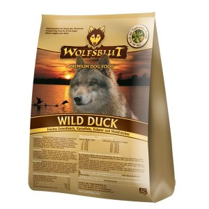 Сухой корм для взрослых собак WolfsblutWild Duck (Дикая утка)